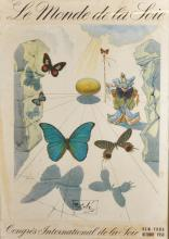 After Salvador Dali (1904-1989) Spanish. 'Allegorie de Soie' Circa 1950, Lithograph, 20