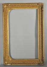 19th Century English School. A Gilt Composition Frame, Arched, 20