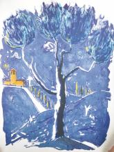 Andrew Southall (1947-   ) British. Untitled, Lithograph, Signed with Initials and Dated '88, Unframed, 37