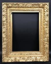 19th Century English School A Carved Giltwood Frame 20 X 13