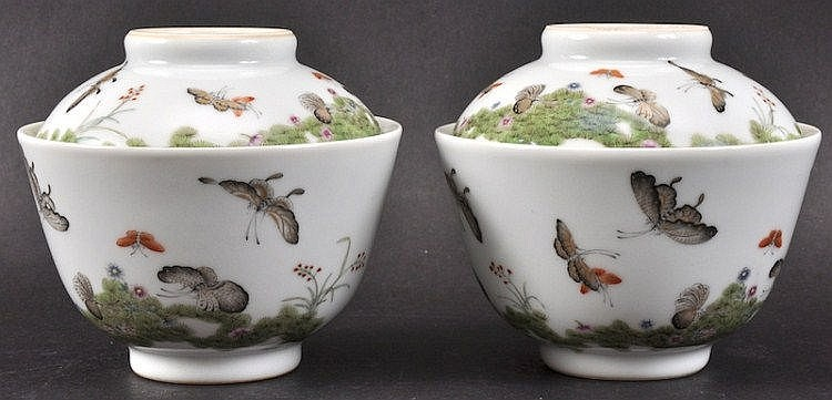 A PAIR OF CHINESE REPUBLICAN PERIOD PORCELAIN