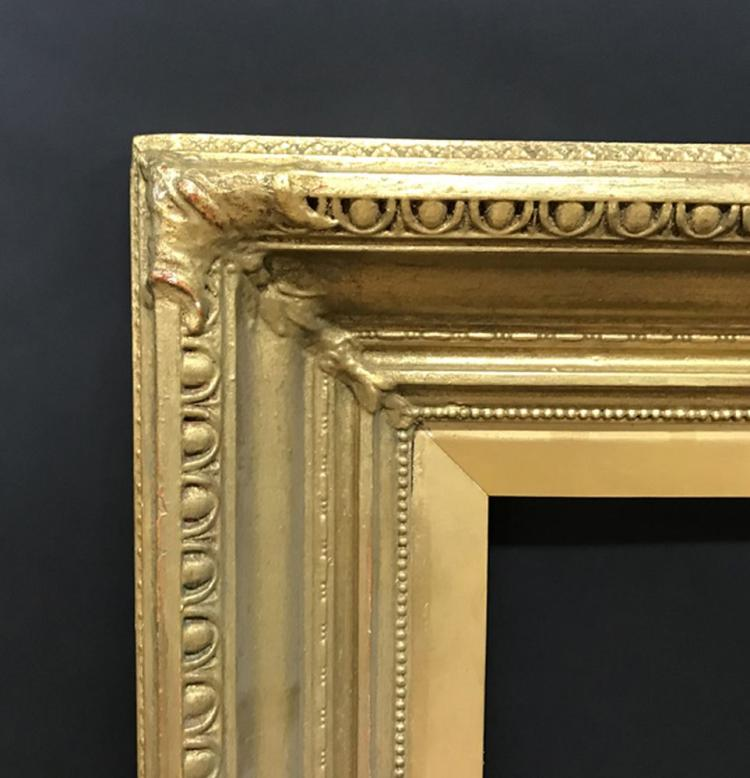 19th Century English School. A Gilt Composition Frame, 30