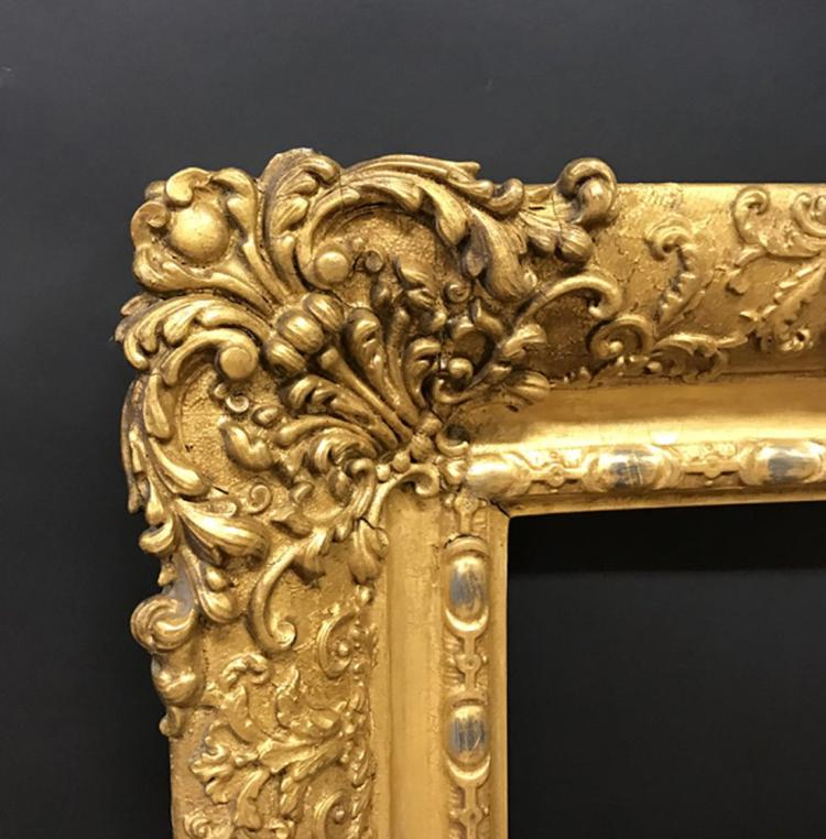19th Century English School. A Gilt Composition Frame, 24