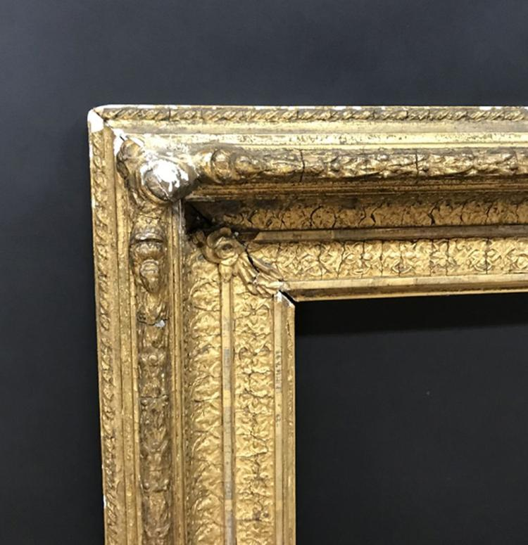 19th Century English School. A Gilt Composition Frame, 24.5