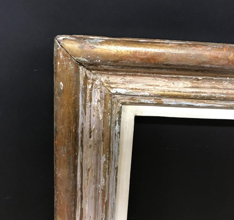 20th Century Continental School. A Gilt Frame with a White Slip, 42
