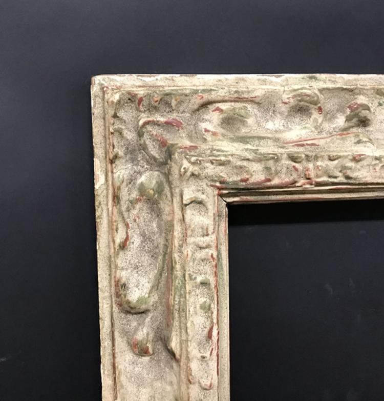 20th Century English School. A Painted Composition Frame, 40