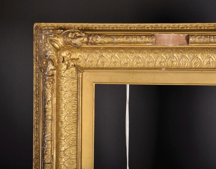 19th Century English School. A Gilt Composition Frame, 27