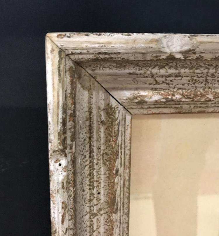 20th Century English School. A Painted Carved Wood Frame, 30.5