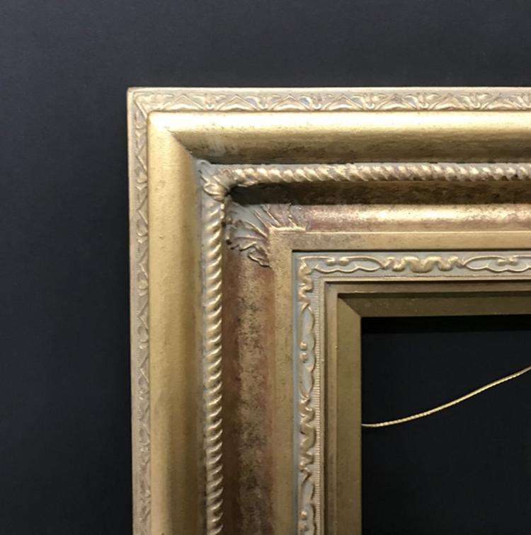 20th Century English School. A Gilt Composition Frame, 10