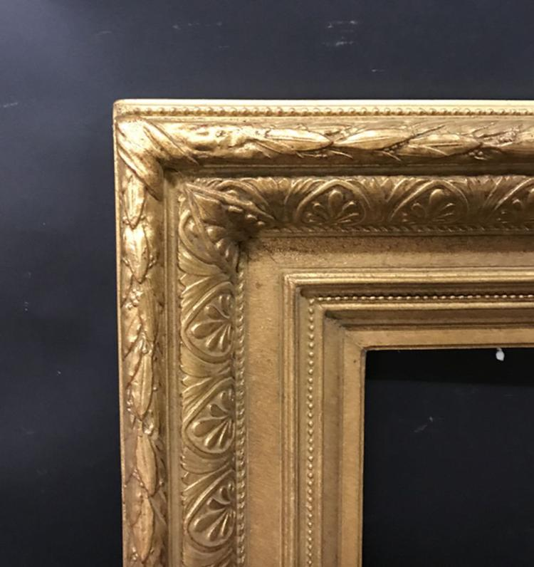 19th Century English School. A Gilt Composition Frame, 14