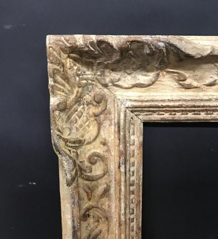 Early 20th Century English School. A Carved Giltwood and Painted Frame, 34