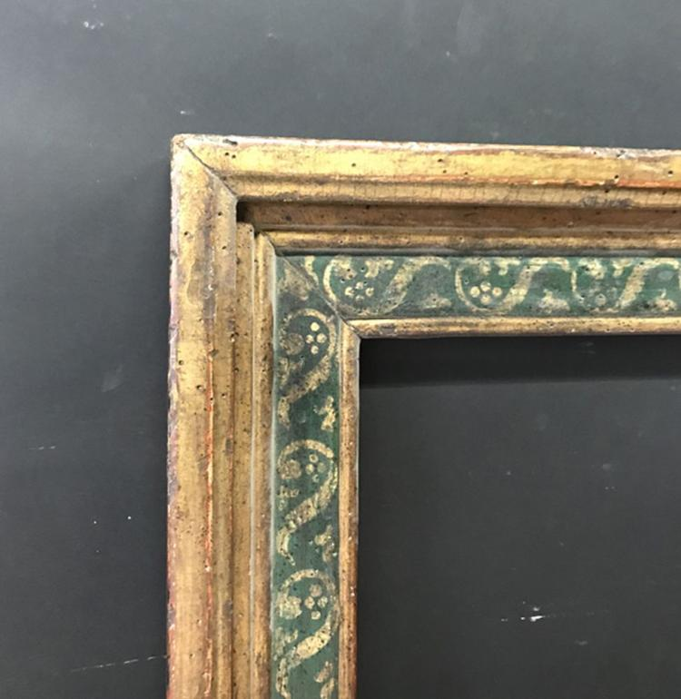 20th Century English School. A Gilt and Painted Frame, 30.5