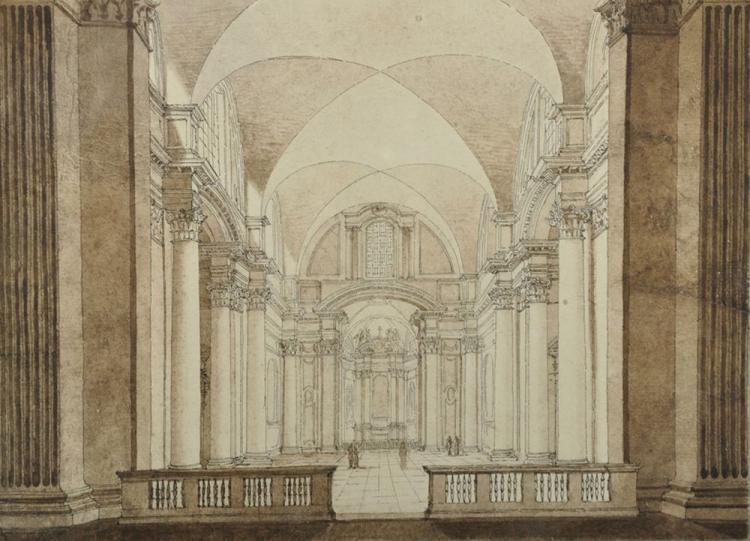 Follower of Giovanni Paolo Panini (1691-1765) Italian.