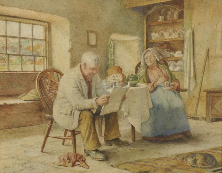 Claude Pratt (1860-c.1935) British.