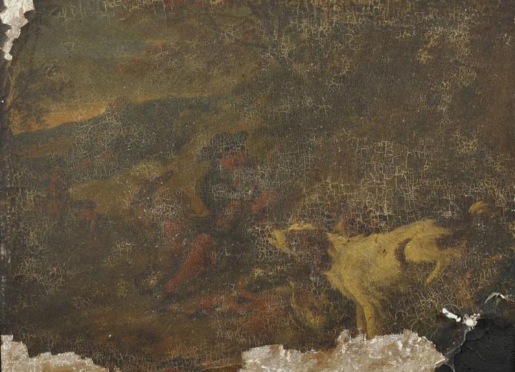 Attributed to Adrian de Gryff (1657-1722) Dutch.