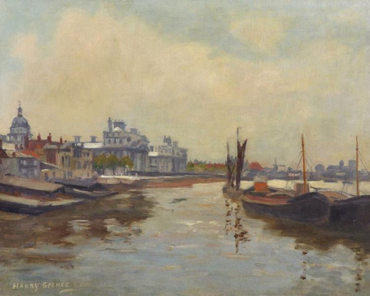 Harry Spence (1860-1928) British.
