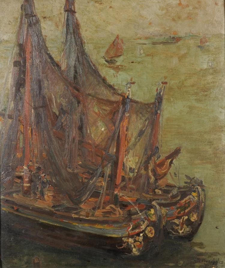 Margaret Moscheles (1871-1924) British.