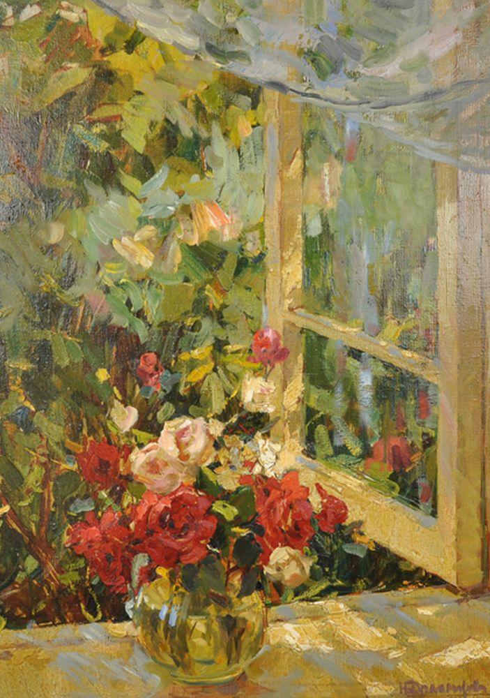 Nina Stepanovna Dragomirova (1926-2014) Russian.