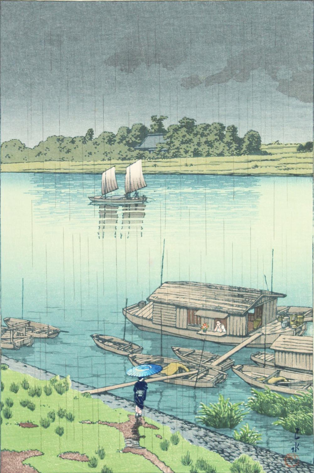Kawase Hasui Artwork for Sale at Online Auction | Kawase Hasui Biography &  Info