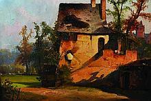 Hermann Mevius (1820-1864) German. A Landscape wit