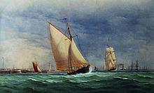 Charles Taylor (act.1841-1883) British. 'Shipping
