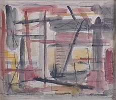 HANNES LOOS (20TH CENTURY) GERMAN Abstract.