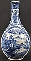 AN 18TH CENTURY CHINESE EXPORT BLUE AND WHITE