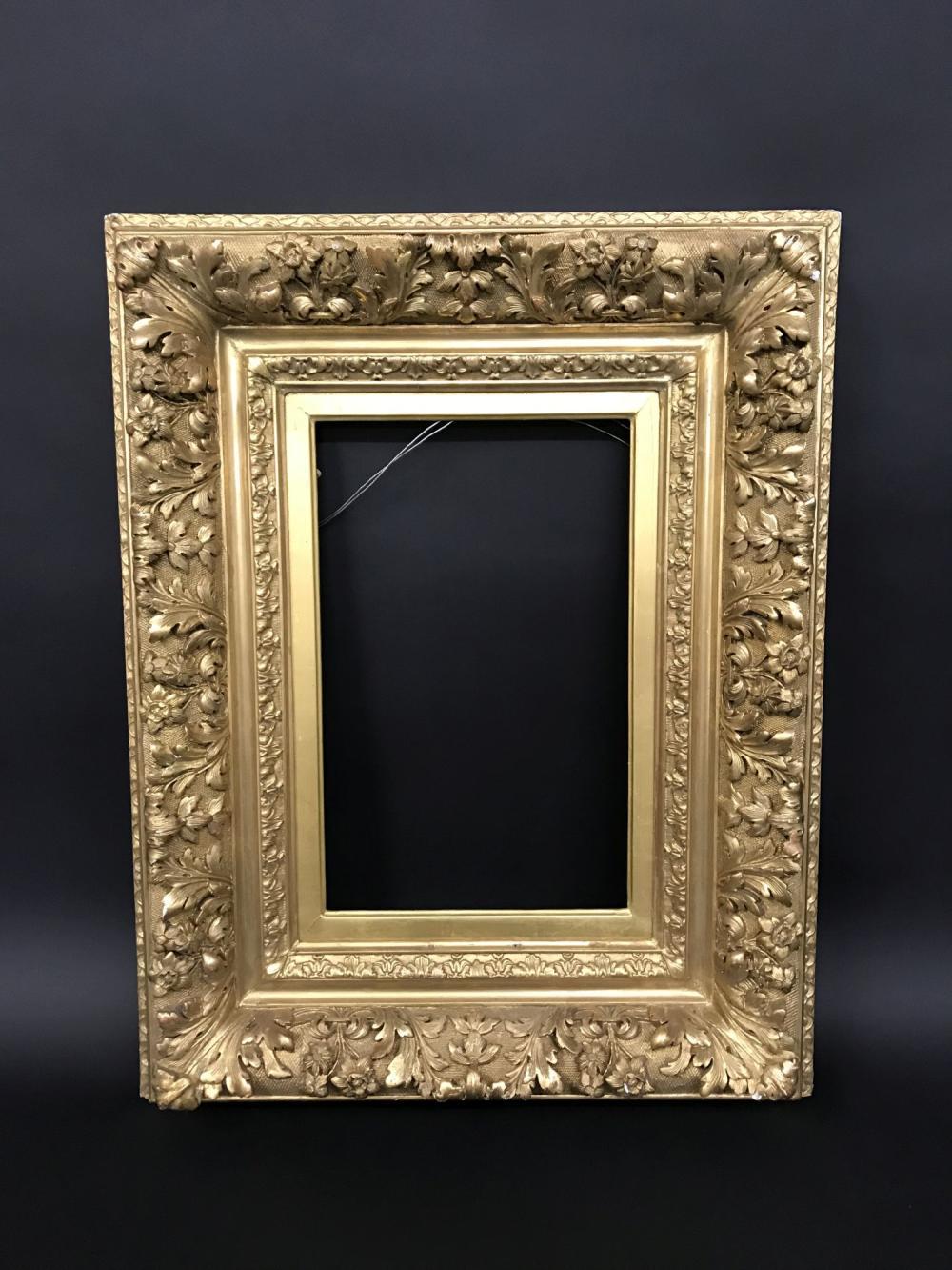 19th Century French School A Fine Gilt Composition Barbizon Frame