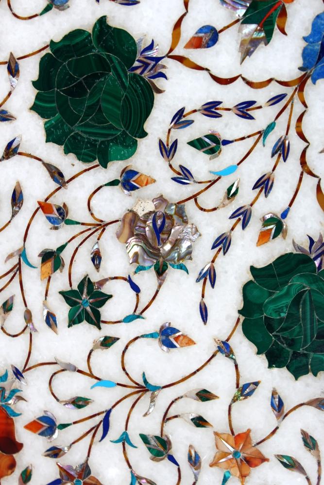 Stupendous A Fine Pietra Dura Work Inlaid Marble Table Top Agra India Download Free Architecture Designs Scobabritishbridgeorg