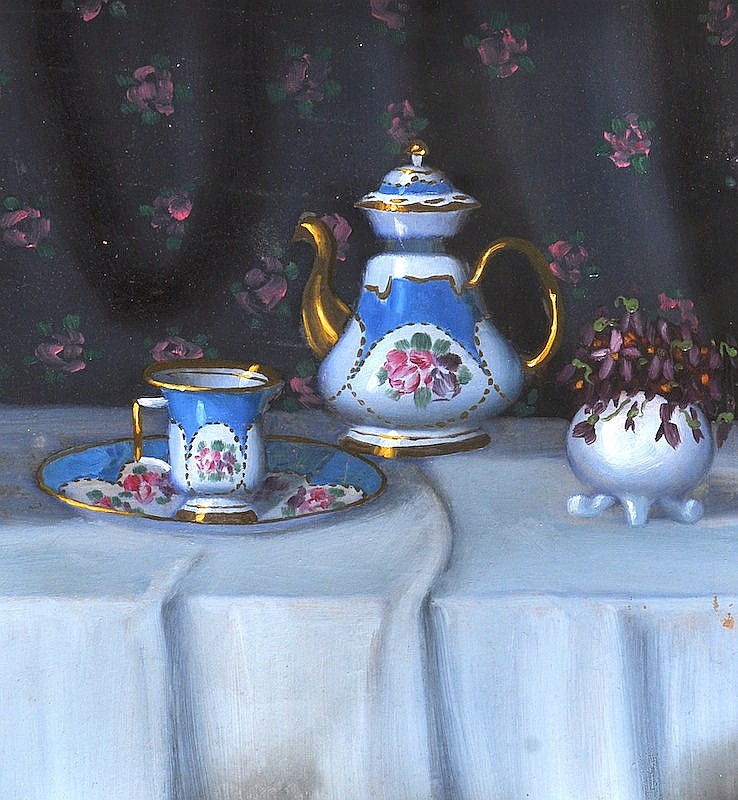 Kassa (20th Century) Russian. Still Life with a