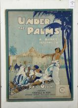 Elric Olsen (20th Century). 'Under the Palms, a Dance Intermezzo (1916)', Poster, 14