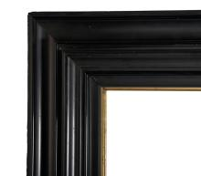19th Century Dutch School. A Black Frame, 24