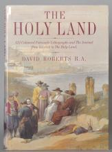 David Roberts. 'Holy Land', Skira, together with various books on, Schadow, Stubbs, Gainsborough, Ladell, Degas x2, Cox, Muncaster, Turner, Freud, Lowry, twelve (12).