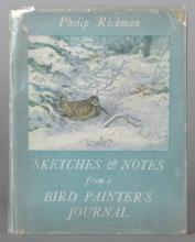 Philip Rickman. 'Sketches and Notes', Eyre & Spottiswoode, together with various books on, Hilder, Thorburn, Callow, Wyllie, Leader, Spencer, Ladell, Chadwick, Beaton, Marine paintings in the Peabody museum, Hockney, twelve (12).