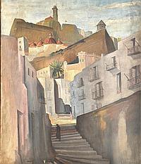 Edward Bainbridge Copnall (1903-1973) British. The