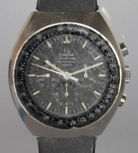 A GENTLEMAN'S OMEGA SPEEDMASTER PROFESSIONAL MARK II WRISTWATCH with leather strap. <br>