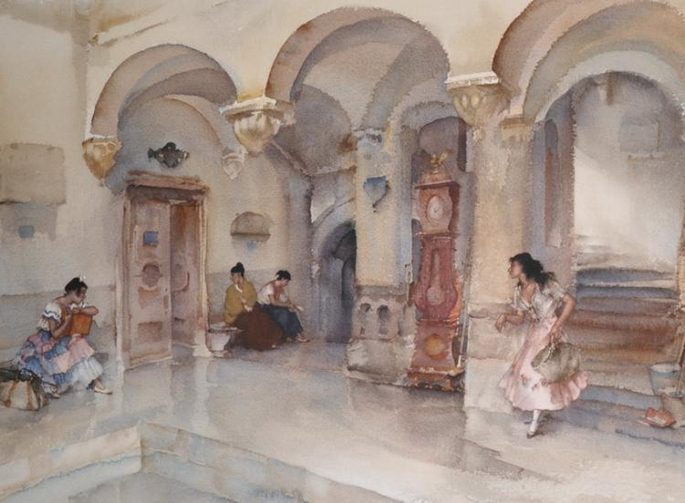 Sold Price: William Russell Flint 1880 - 1969 Pencil