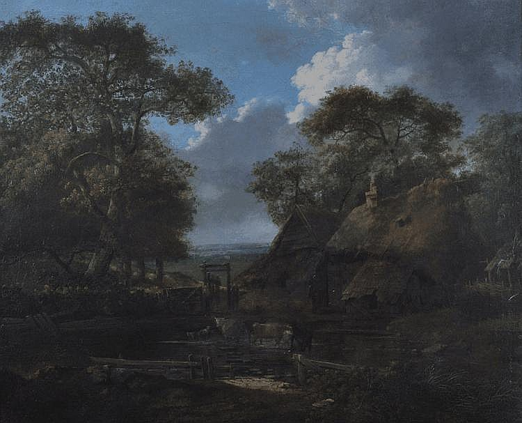 CORNELIS GERRIT VERBURGH (1802-1879) DUTCH. A