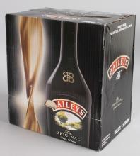 BAILEYS IRISH CREAM, 6 x 1000ml bottles.