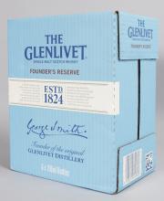 THE GLENLIVET SINGLE MALT SCOTCH WHISKY, 6 x 70cl bottles (6 bottles).