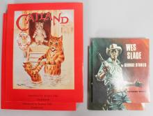 TWO LOUIS WAIN BOOKS and TWO WES SLADE BOOKS.