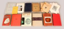 A COLLECTION OF FIFTEEN VARIOUS VOLUMES, CATALOGUES & PAMPHLETS, mainly on Japanese art subjects. (15)
