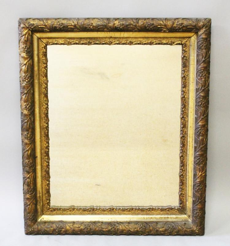 A victorian gilt framed mirror 2ft 2ins long 4ft 9ins wide for Long wide mirror