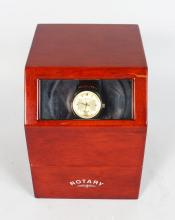 ROTARY, with brown strap in original box