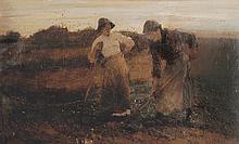 Thomas Austen Brown (1859-1924) British. Two Girls