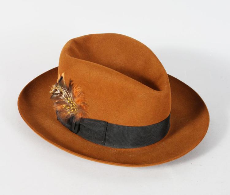 A NORMA KAMALI STETSON HAT.