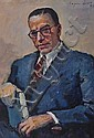 EUGENE SPIRO (1874-1972) GERMAN. Portrait. Signed, Eugene Spiro, Click for value