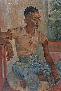 EDWARD BAINBRIDGE COPNALL (1903-1973) Portrait of