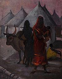 EDWARD BAINBRIDGE COPNALL (1903-1973) Figures with
