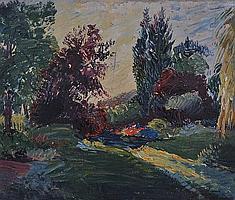 EDWARD BAINBRIDGE COPNALL (1903-1973) Garden in
